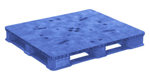 Plastic Pallets Rackable 40 x 48 Stack