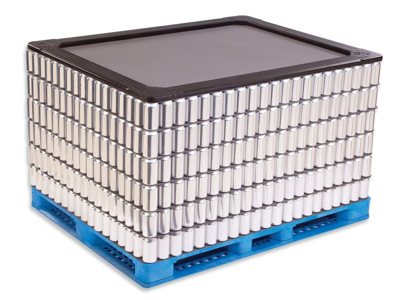 Plastic Pallets Top Caps and Top Frames 44 x 56 Top Frame image