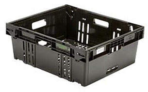 Containers, Totes,                        Trays and Cases Stack-N-Nest CR2420-9 3-H NPL 677 image
