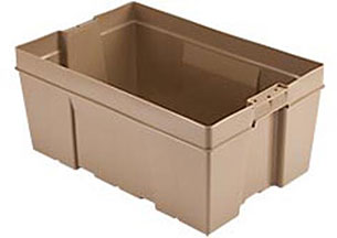 Containers, Totes,                        Trays and Cases Stack-N-Nest NO2416-11 NPL 747 image
