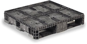 Plastic Pallets Stackable 32 x 30 CIISF image