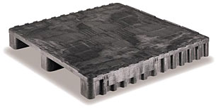 Plastic Pallets Stackable 40 x 40 DY Lip A image