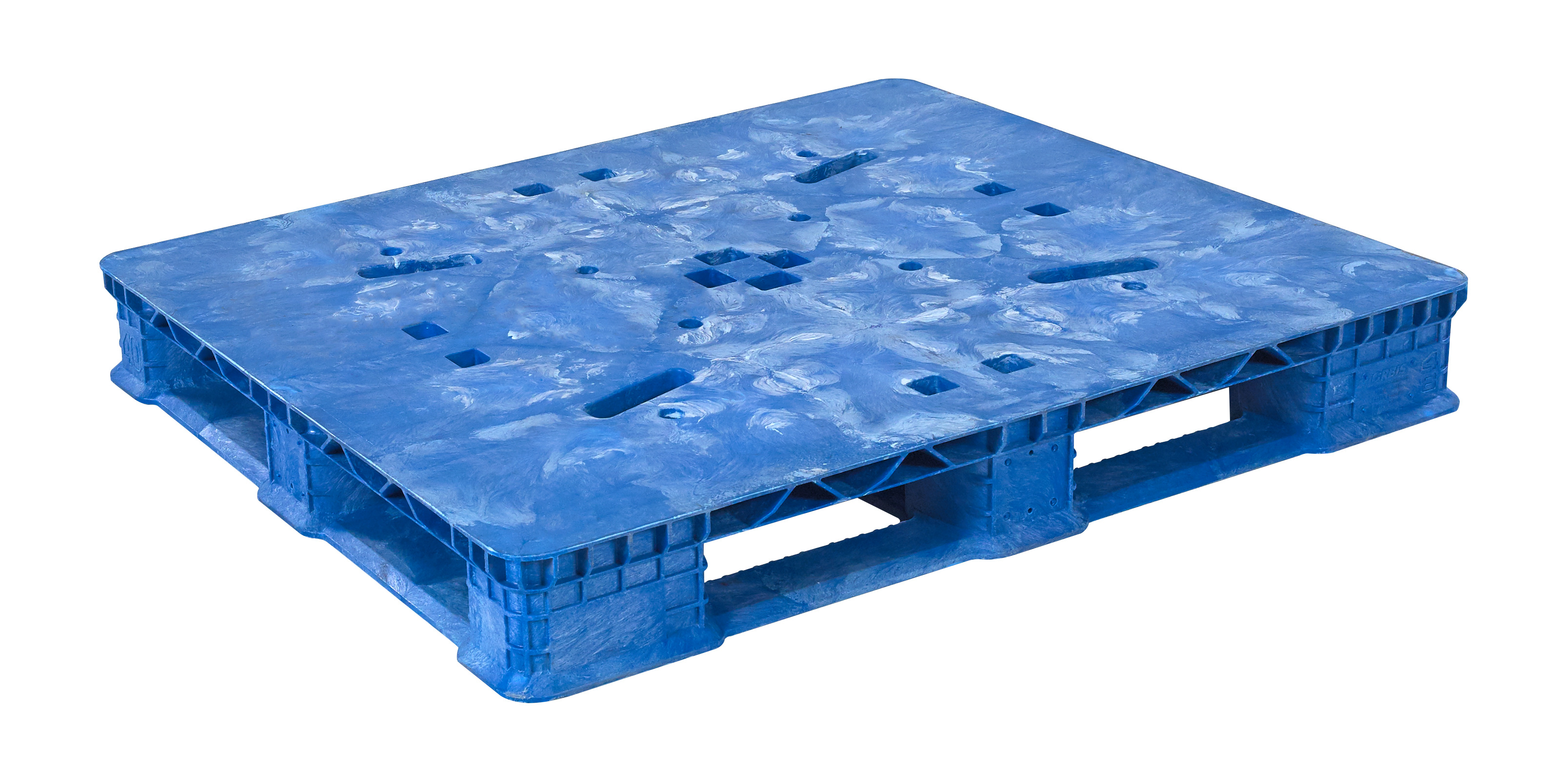 Plastic Pallets 40 x 48 Stack'R FM HD w/o STR photo