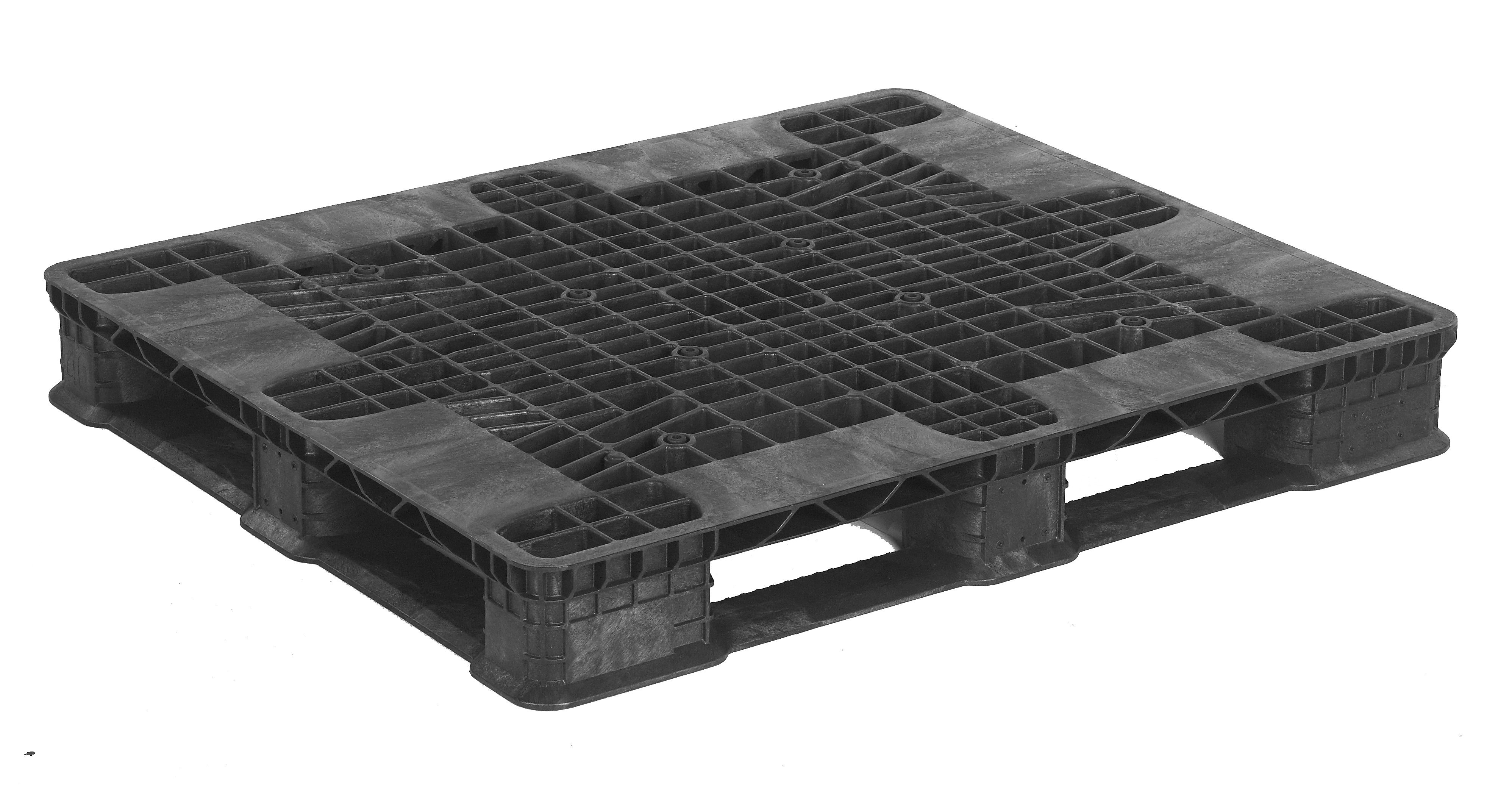 Plastic Pallets 40 x 48 Stack'R FM HD w/ STR (Open Deck) photo