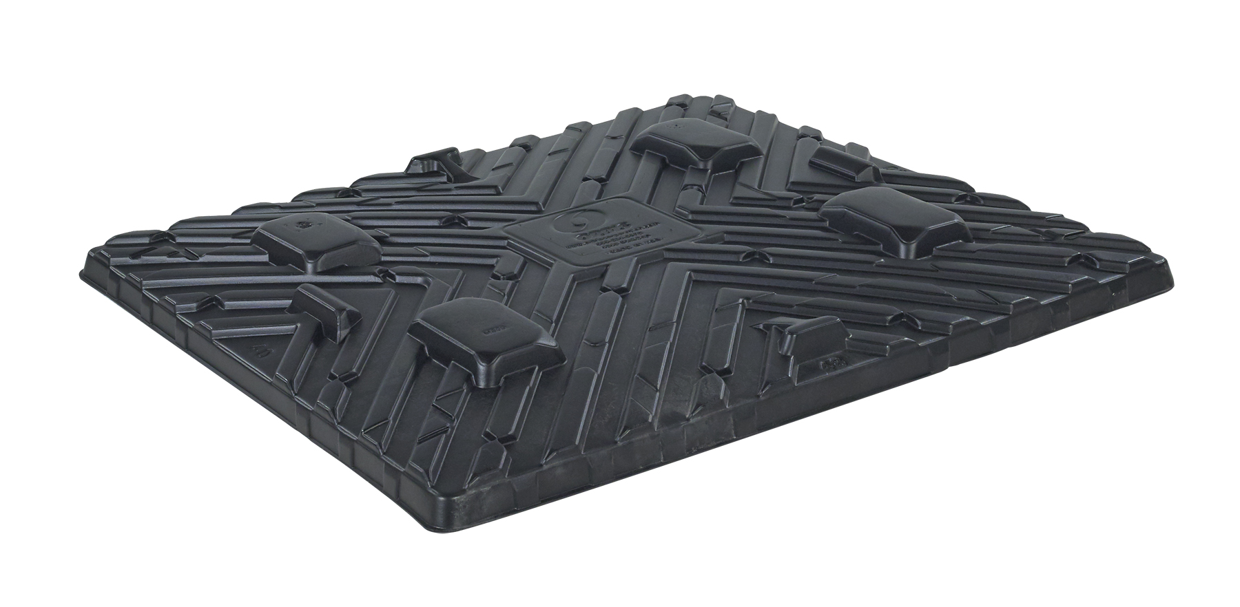 Plastic Pallets 40 x 48 StakCap Top Cap photo